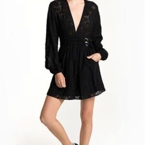 A.L.C Jezebel Dress, Black Lace with belted waist